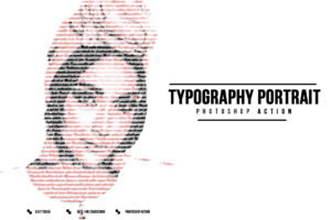 Typography Portrait Collection