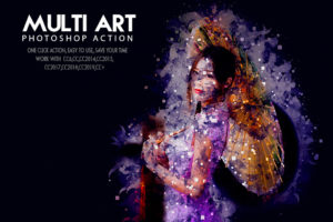 Multi Art Photoshop Action Bundle