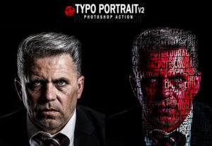 Artistic Typo Portrait Collections
